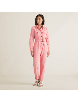 Button Through Jumpsuit by Seed Heritage