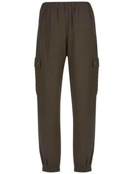 Khaki Utility Trouser by Mint Velvet