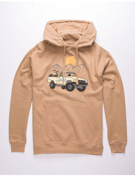 Rsq Born To Roam Mens Hoodie by Rsq