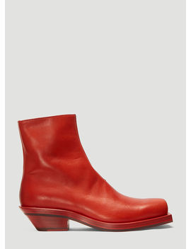 Number 5 Boots In Red by Ion