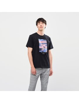 Men Lemaire Shinkai Film Ut Graphic T Shirt by Uniqlo