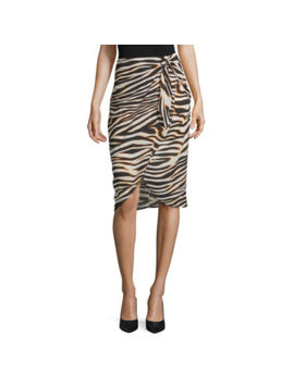 Worthington Womens Wrap Skirt by Worthington