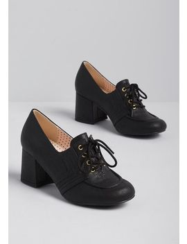 The Right Aptitude Oxford Heel by B.A.I.T. Footwear