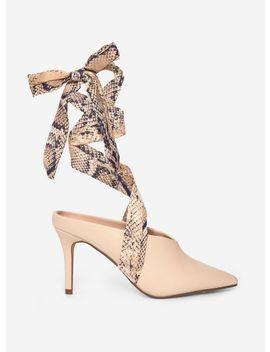 Ecru 'estelle' Court Shoes by Dorothy Perkins