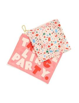 Large Carryall Duo   Confetti/Traveling Party by Ban.Do