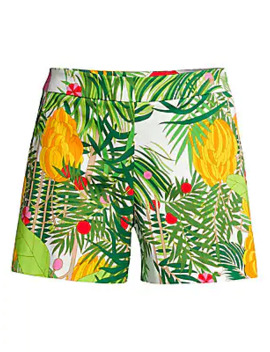 Fantasy Island Coccoloba Printed Shorts by Trina Turk
