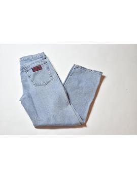 Vintage Blue Wrangler Faded Denim Jeans by Etsy