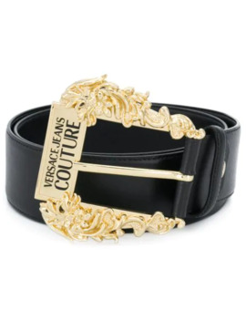 Logo Buckle Belt by Versace Jeans