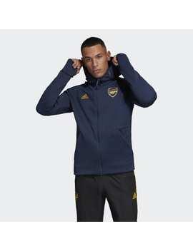 Arsenal Adidas Z.N.E. Hoodie by Adidas