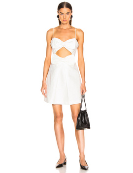 Corsage Bow Mini Dress by Zimmermann