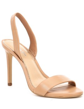 Devlyy Leather Halter Back Dress Sandals by Gianni Bini