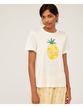 Pineapple T Shirt by Oysho