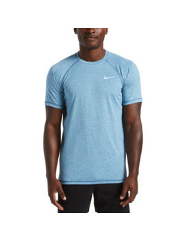 Nike Heather Hydroguard Short Sleeve Crew Neck T Shirt by Nike