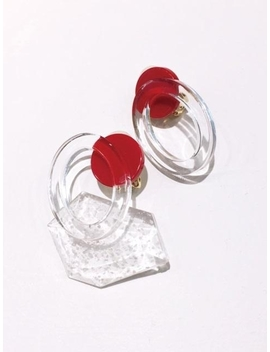 Cherry Clear Earring by Fruta