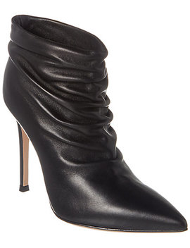 Gianvito Rossi Cyril 105 Leather Ankle Boot by Gianvito Rossi