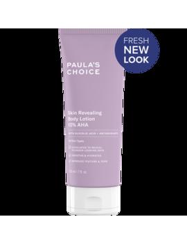 Skin Revealing Body Lotion 10% Aha Skin Revealing Body Lotion 10% Aha Paula's Choice International Websites by Paula's Choice