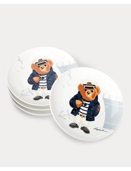 haven-navy-bear-dessert-plates by ralph-lauren