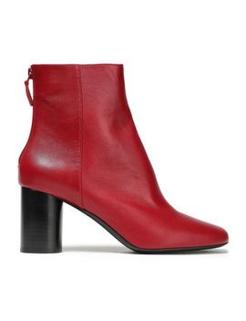 Leather Ankle Boots by Sandro
