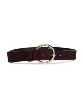 Suede Belt by Sandro