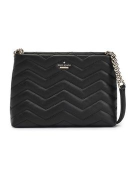 Chain Trimmed Quilted Leather Shoulder Bag by Kate Spade New York