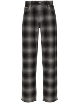 Benz Tartan Check Jeans by Eytys