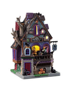 Lemax® Spooky Town® Raven's Roost Brewery & Cafe by Lemax