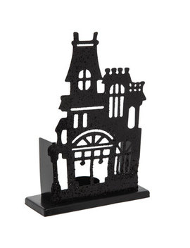 Haunted House Metal Candle Holder by Hobby Lobby