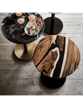 Wood + Resin Bistro Table by West Elm