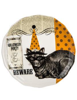 Cat Plate by Hobby Lobby