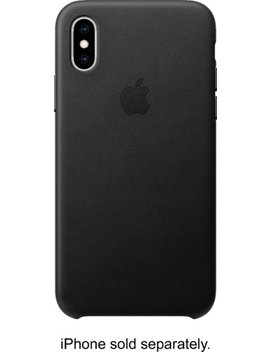 I Phone® Xs Leather Case   Black by Apple