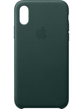 I Phone® Xs Leather Case   Forest Green by Apple