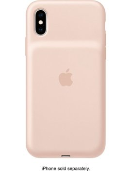 I Phone Xs Smart Battery Case   Pink Sand by Apple