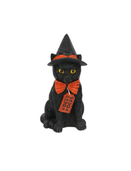 "8.46"" Sitting Black Cat Tabletop Accent By Ashland® by Ashland"