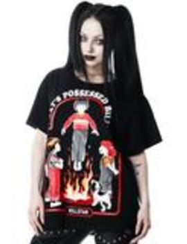 Possessed Relaxed Top by Killstar