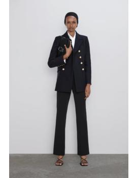 Kurzer Mantel Mit KnÖpfen Neudamen by Zara