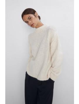 Oversized Sweater View All Knitwear Woman by Zara