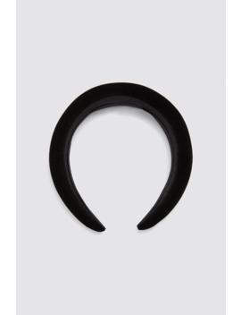 Velvet Headband New Inwoman by Zara
