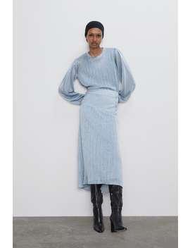 Sparkly Knit Skirt New Inwoman by Zara