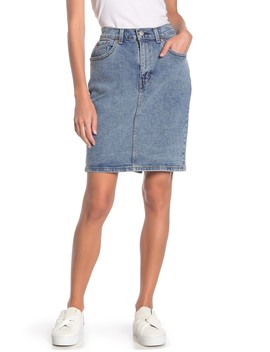 Core Denim Pencil Skirt by Levi's