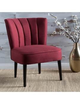 Erena Fabric Channel Accent Chair By Christopher Knight Home by Christopher Knight Home