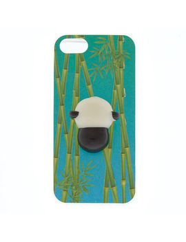 Bamboo Panda Squishy Phone Case by Claire's