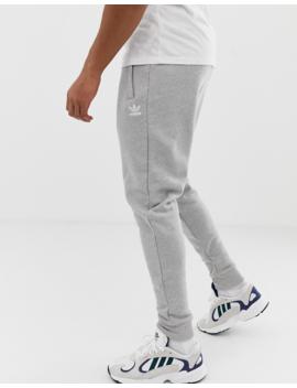 Adidas Originals   Pantalon De Jogging Avec Logo Brodé   Gris by Adidas Originals