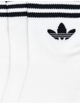 Adidas Originals   Lot De 3 Paires De Chaussettes   Blanc by Adidas Originals