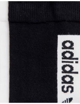 Adidas Originals   Vocal   Chaussettes Avec Logo   Noir Blanc by Adidas Originals