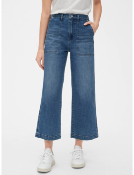 '80s Worker High Rise Wide Leg Jeans by Gap