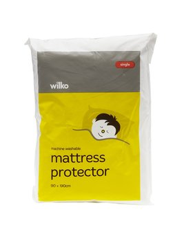 Wilko Functional Single Mattress Protector Wilko Functional Single Mattress Protector by Wilko