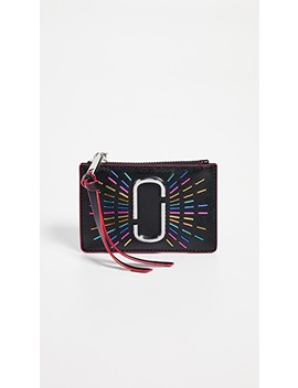 Snapshot Confetti Top Zip Multi Wallet by Marc Jacobs