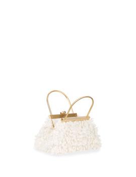 Estelle Mini Ruffle Top Handle Bag by Cult Gaia