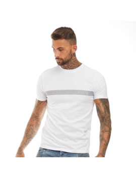 883 Police Mens Dockin T Shirt White by 883 Police