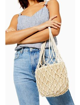Siren String Tote Bag by Topshop